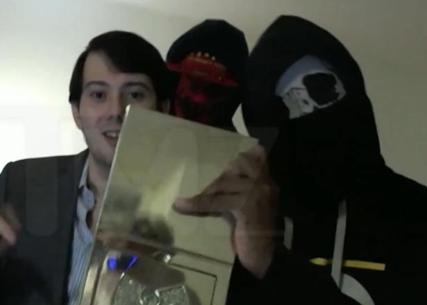 Sad manchild Martin Shkreli threatens to delete Ghostface from Wu-album in awkward diss video