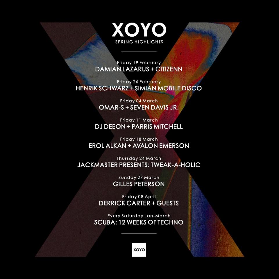 XOYO_springhighlights