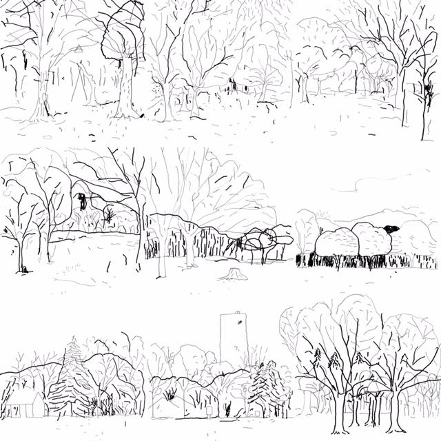 Lawrence Yoyogi Park artwork