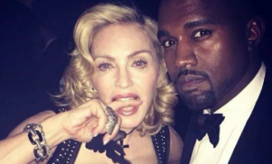 Hear a new version of Kanye West's 'Highlights' featuring Madonna