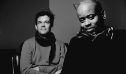 Juan Atkins and Moritz von Oswald return as Borderland with Transport LP