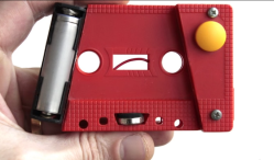 This musician turns cassette tapes into strange instruments