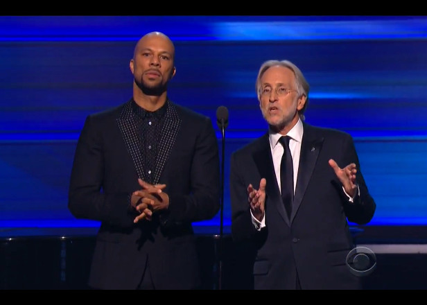Common stands against free music streaming at Grammys