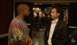 Watch Kanye West's freestyle on Saturday Night Live