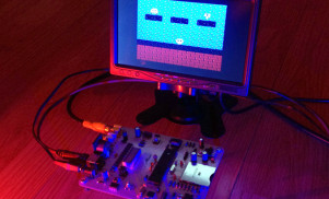 Ming Micro is a synth that generates 8-bit sound and visuals