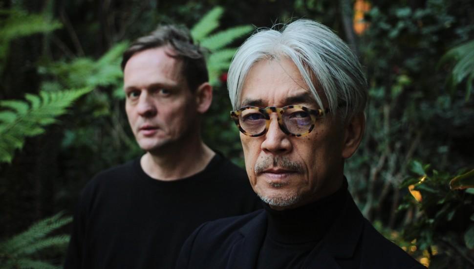 Ryuichi Sakamoto and Carsten Nicolai
