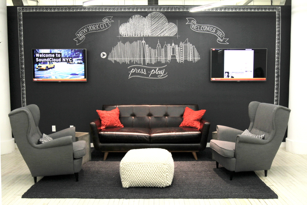 SoundCloud's New York Office
