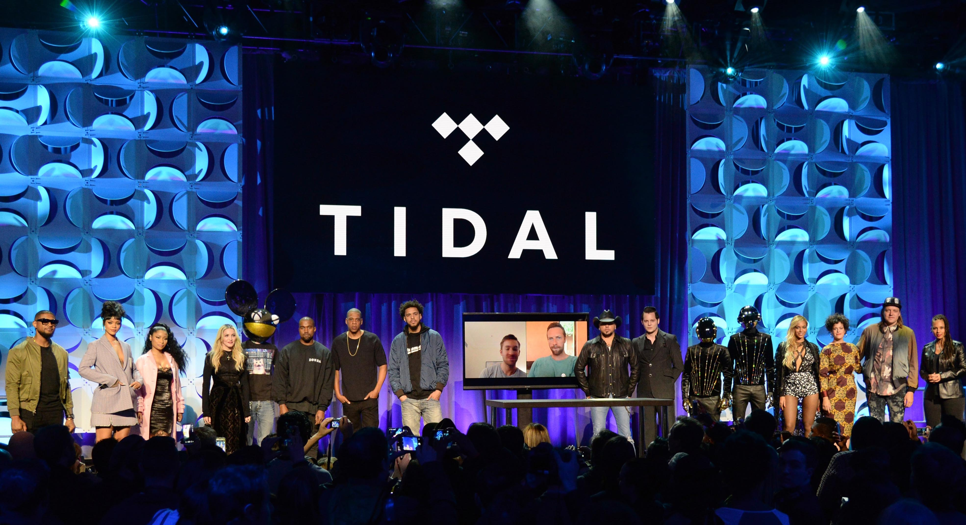 Tidal Launch Event NYC
