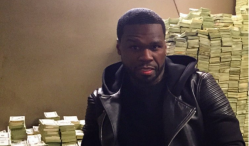 50 Cent posed with fake cash and lied about owning African mansion, court hears