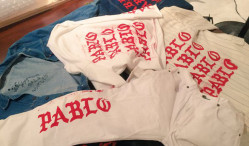 Kanye West's The Life of Pablo pop-up sold bootleg merch