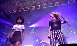 Watch Grimes' set at Coachella featuring Janelle Monae and Aristophanes