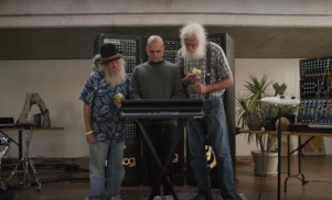 Watch Jacques Greene get some advice from sage old men eating apples