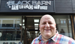 Man uses lottery winnings to open record store in Cambridge