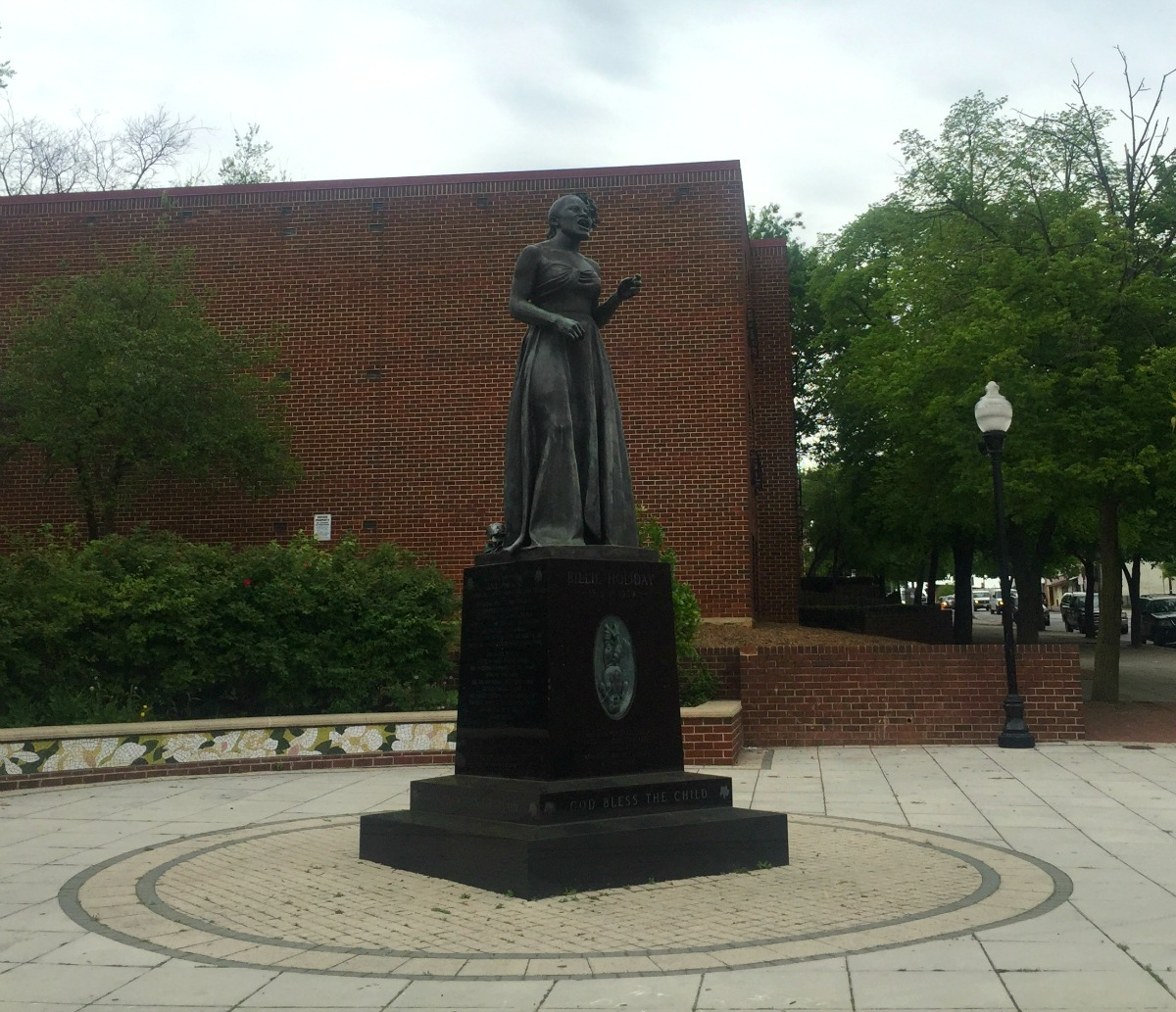 The Billie Holiday statue in Baltimore