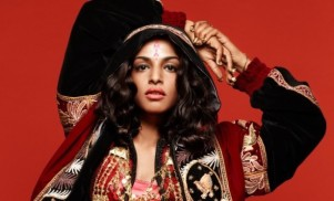 "M.I.A. says her ""last album"" is finished, but she can't tour the US"