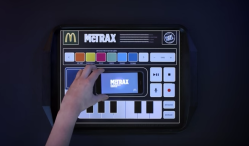 McDonald's lets you make beats while you eat with its McTrax placemat