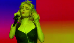 Watch Grimes' dazzling performance of 'Flesh Without Blood' on The Tonight Show
