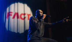 Watch Stormzy tear through 'Not That Deep' on the FACT stage at Great Escape 2016
