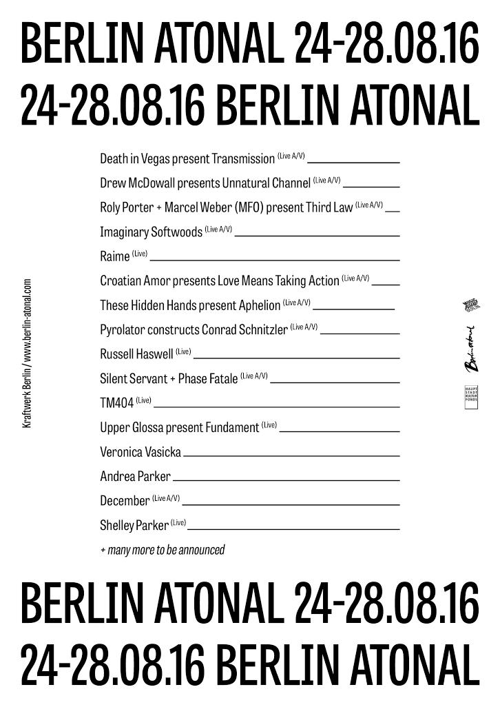 berlin-atonal-2016-lineup