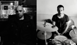 Zombi drummer AE Paterra and composer Paul Lawler make prog-synth epics as CONTACT