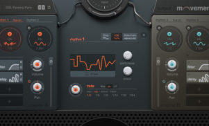 Movement is a Swiss Army knife plug-in that adds rhythm, dynamics and a slice of chaos to any sound