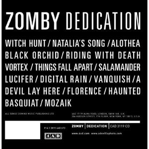 Zomby: Dedication