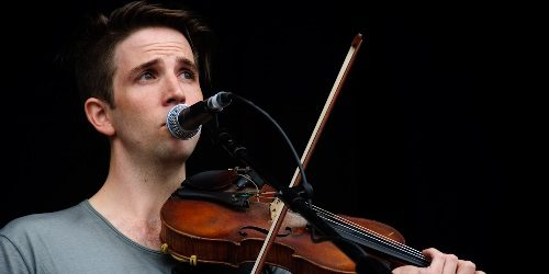 Owen Pallett doing arrangements for Linkin Park