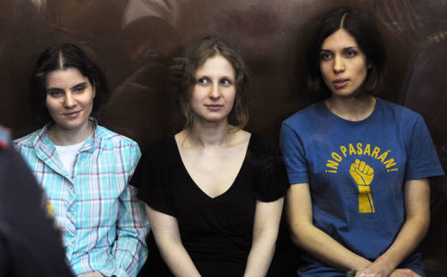 Pussy Riot appeal two year sentences
