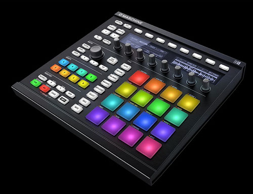 more buttons more colours more software native instruments unveil the maschine mkii fact. Black Bedroom Furniture Sets. Home Design Ideas
