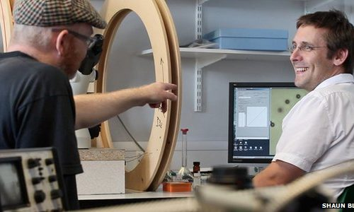 Listen to what microscopic particles actually sound like – according to SND's Mark Fell