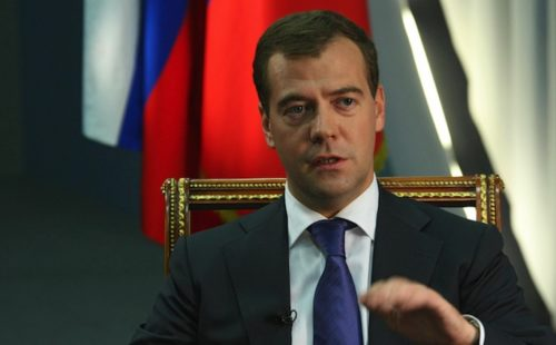Russian Prime Minister calls for Pussy Riot members to be freed from jail
