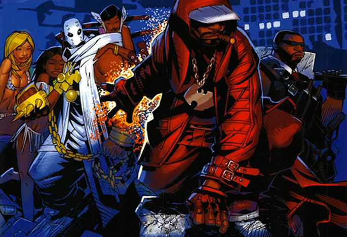 Not for the squeamish: marvel at the Wu-Tang Clan comic ...