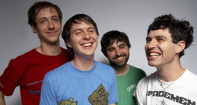 Animal Collective perform acoustic versions of two <em>Centipede Hz</em> songs