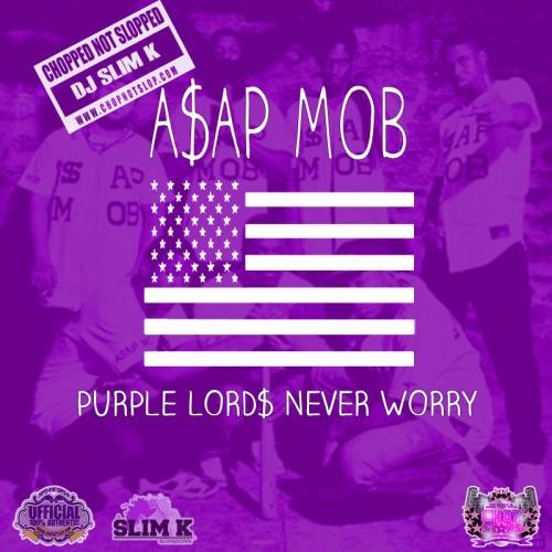 Slim K chops-and-screws A$AP Mob on <em>Purple Lord$ Never Worry</em>