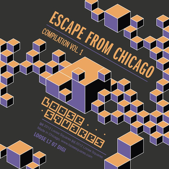 Premiere: Stream Escape from Chicago, a footwork comp from Chrissy Murderbot's Loose Squares imprint