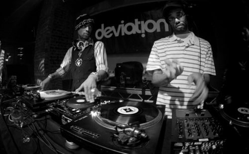Listen to a classic live mix from Madlib and J. Rocc