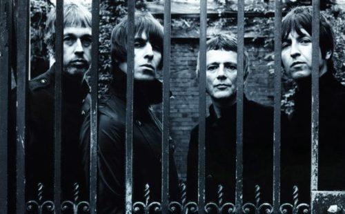 Liam Gallagher's Beady Eye recording album with Dave Sitek