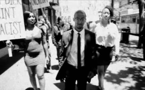 Bay Area rapper akaFRANK pays tongue-in-cheek tribute to civil rights in his NSFW clip for 'Racist'
