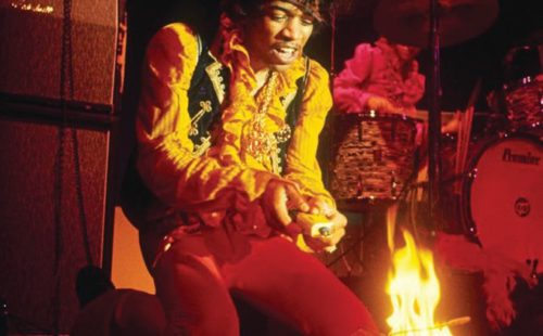 Hendrix's famous Monterey guitar sells for £237,000 at auction