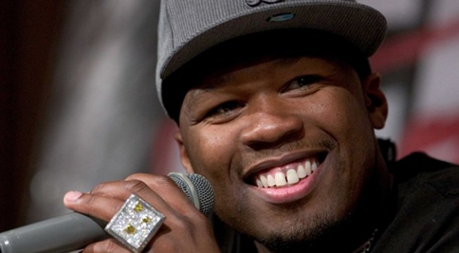 50 Cent appears on QVC shopping channel to sell SMS Audio headphones, flirts outrageously with presenters