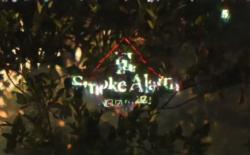 Watch the laser-lit video for Nguzunguzu's menacing 'Smoke Alarm'