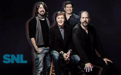 Nirvana and Paul McCartney team up once again on Saturday Night Live
