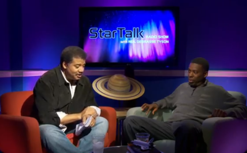 Watch GZA talk hip-hop and science with astrophysicist Neil deGrasse Tyson