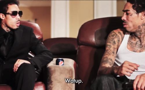 It's Gunplay vs. Gunplay in the tongue-in-cheek video for 'Guillotine Swordz'