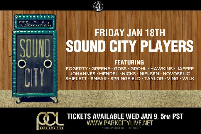 Dave Grohl's Sound City Players' lineup includes Stevie Nicks, Nirvana bandmates, and more