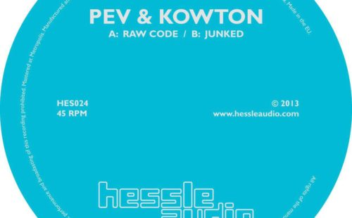 Stream Peverelist and Kowton's collaborative single for Hessle Audio, 'Raw Code'