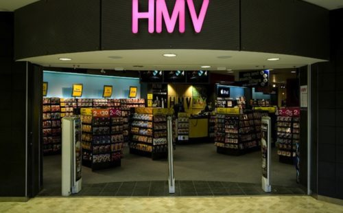 Major labels announce HMV support package
