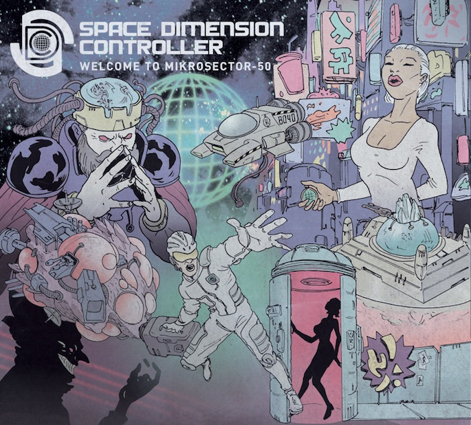 Listen to a Space Dimension Controller song off his forthcoming album