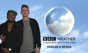 Watch Skream & Benga do the weather as Annie Nightingale takes over Newsnight