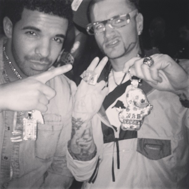 Drake to collaborate with Mad Decent rap oddball RiFF RAFF